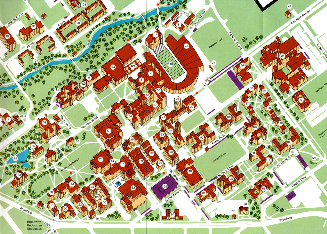 Athens Campus Map.Making Real Maps Making Maps Diy Cartography
