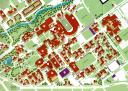 University of Colorado at Boulder Campus Map (detail) (1988)