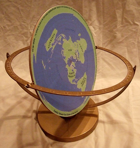 Making flat earth globes making maps diy cartography for Model of flat