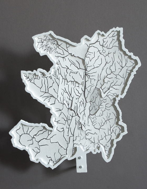 Map Art Exhibitions, 2010-11 | Making Maps: DIY Cartography Diy Map Art on