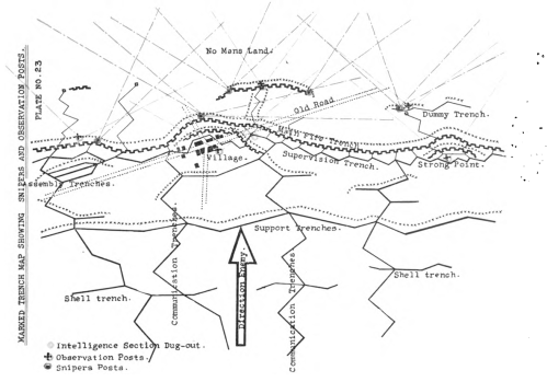 World War 1 Trench Map Pictures To Pin