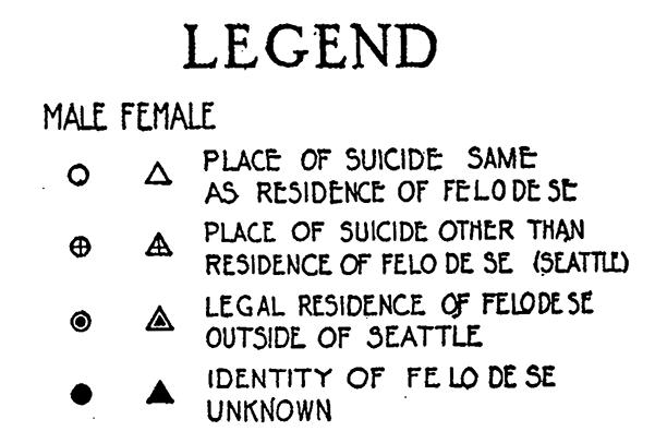 Suicide Churches Multivariate Map Symbols 1928 Making Maps
