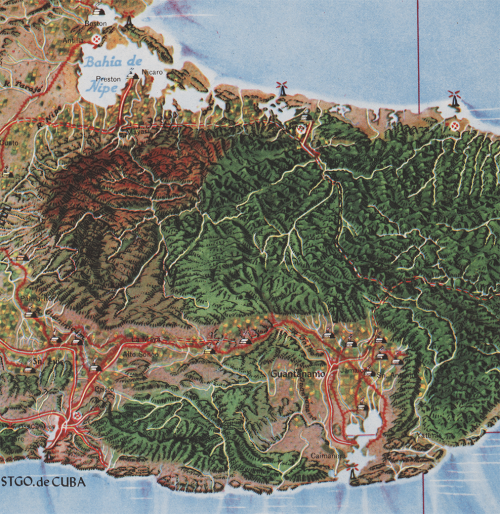 013_Cuba_Canet_Raisz_Map