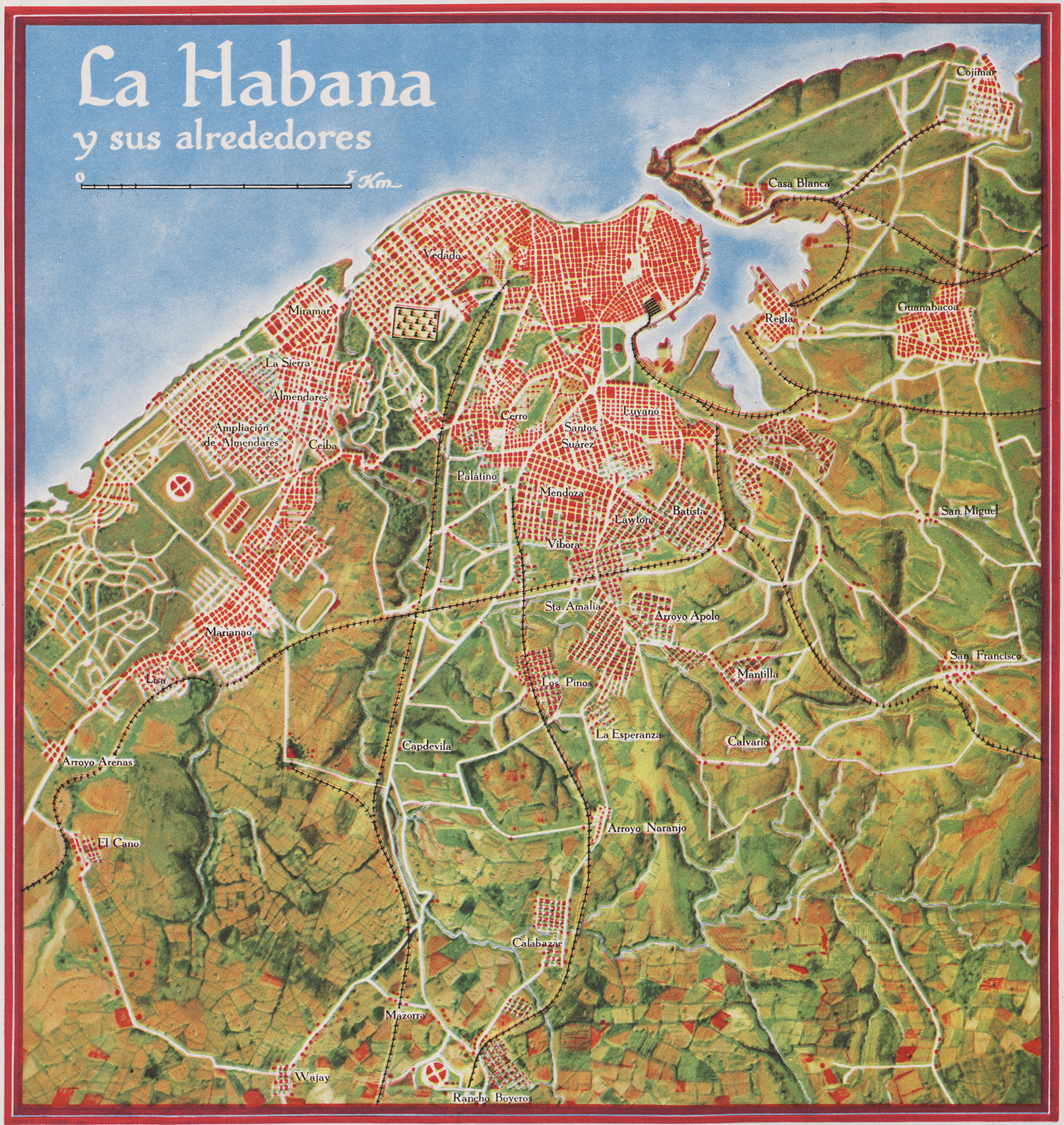 Cuba Maps Making Maps DIY Cartography - Vintage map of cuba
