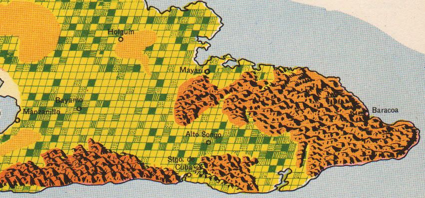 raisz_atlas_of_cuba_p42-43_agriculture_close