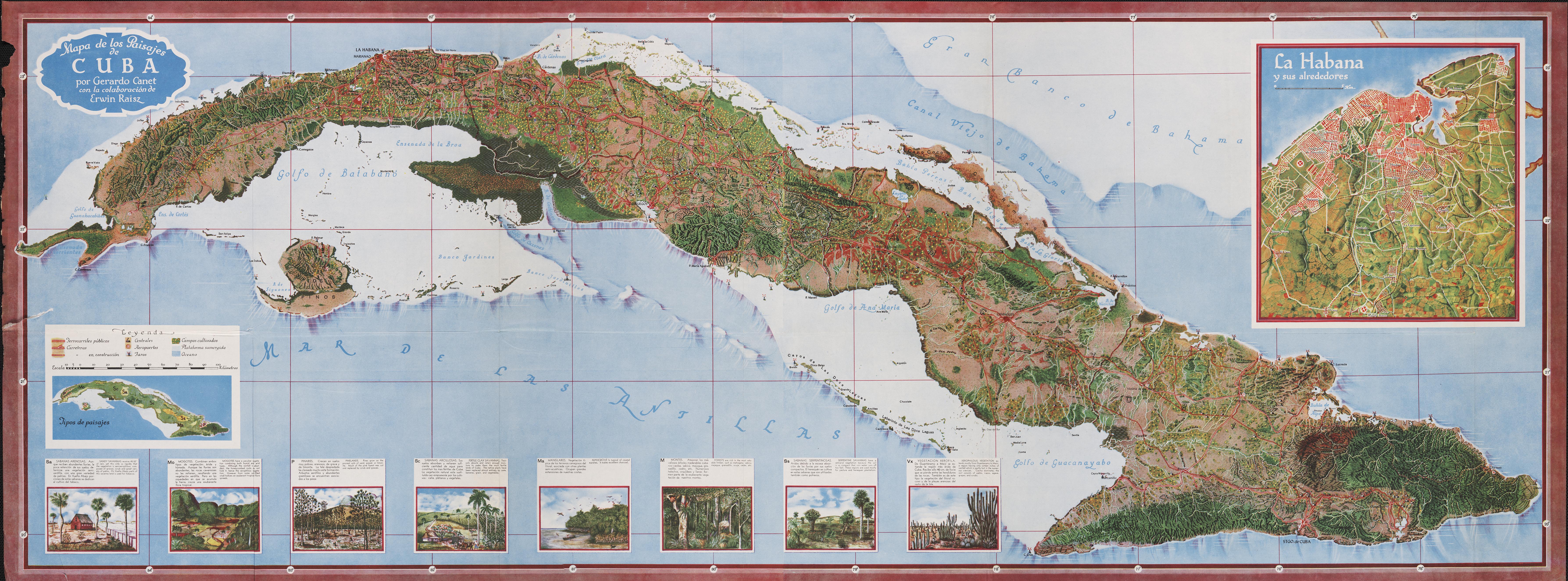 Cuba maps Making Maps DIY Cartography