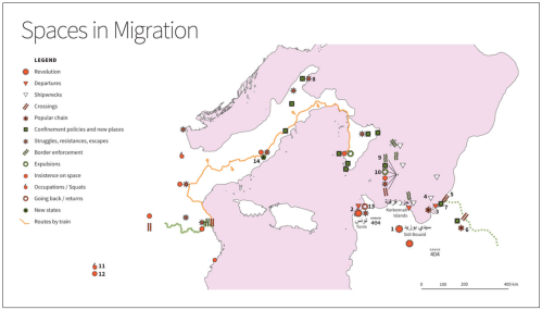 Fig 3 Spaces in Migration MAP